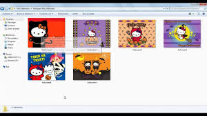 regalo pack hello kitty halloween imagenes png wallpapers