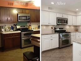 how to freshen up stained kitchen cabinets 3 ways to refresh cabinets repainting refinishing refacing