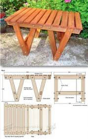 Wood Plans Outdoor Table by Outdoor Table Plans Outdoor Furniture Plans U0026 Projects