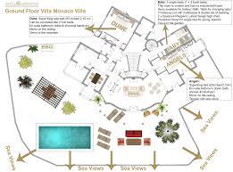 luxury house floor plan villa monaco adeje tenerife luxury holiday rentals sea views