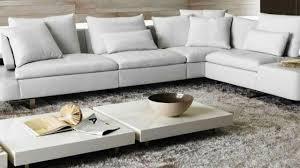natuzzi white leather sofa in interior design youtube