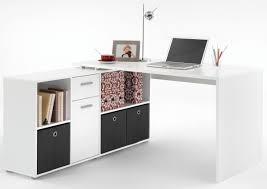 Weisser Hochglanz Schreibtisch Schreibtisch Lex Weiß U0026 9654 Online Bei Poco Kaufen