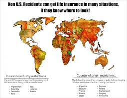 life insurance non u s residents and foreign nationals