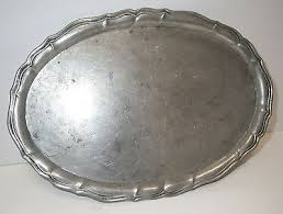 pewter platter 1740 antique german pewter tray plate hallmarked fein zinn scales