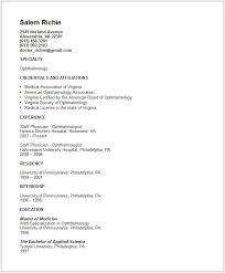 physician assistant resume templatedoctor resume template resume