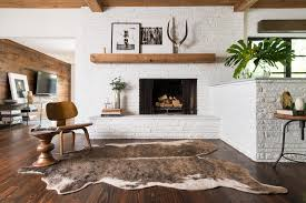 Cowhide Rug In Living Room Brown U0026 Tan Cowhide Rug Woodwaves
