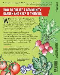start a community food garden workman publishing