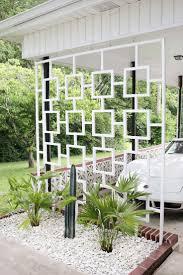 mid century modern landscape design landscaping front lawn ideas
