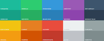 color swatches flat ui color swatches photoshop aco color palette