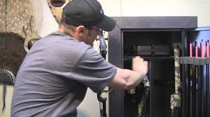 stack on double door gun cabinet product review stack on gun and bow cabinet youtube