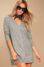 cozy sweater dress grey sweater dress sleeve dress