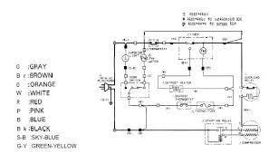 refrigerator wire diagram wiring diagram and schematic diagram