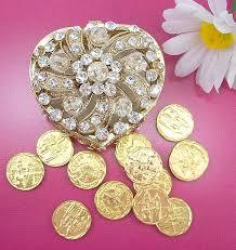 arras de boda arras heart embossed silverplated wedding coins set