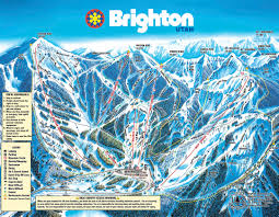 Park City Utah Trail Map by Brighton Ski Resort Skimap Org
