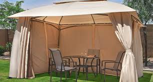 Solid Roof Pergola Kits illustrious living accents 10x12 gazebo manual tags 10x12 gazebo