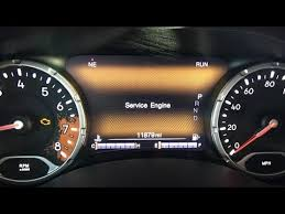 Jeep Renegade Service Engine Light Problem Repair Youtube