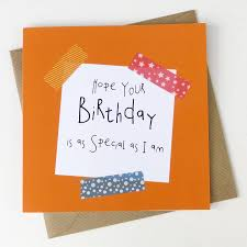 special birthday funny cheeky birthday card by wink design