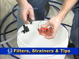 clean up and storage for your paint sprayer youtube