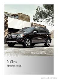 mercedes benz ml350 2010 w164 owner u0027s manual