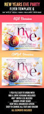 574 best new year party flyer templates images on pinterest