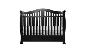 Black Convertible Crib On Me 5 In 1 Convertible Crib With Storage Groupon
