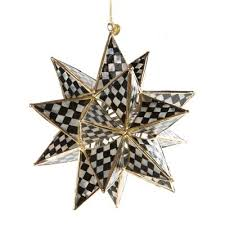courtly check ornament mackenzie childs