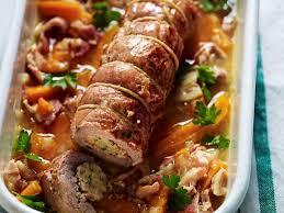 cuisiner le roti de veau roti de veau farci au parmesan ail et persil recettes femme