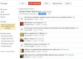android help forum launches android wear forum for consumers to find help