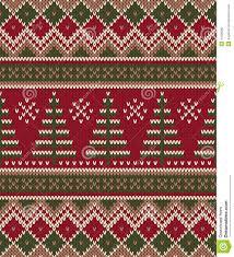 christmas sweater design seamless knitting pattern winter holi