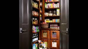 spacious walk in kitchen pantry design youtube