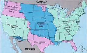 Interactive Map Of United States by Interactive Map Of The Territorial Expansion Of The Us 17831912