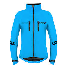cycling jacket blue reflect360 crs women s cycling jacket colour reflective