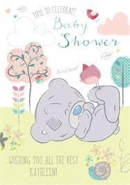 baby shower card tatty teddy baby shower card