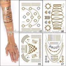 tattoo decal paper buy wholesale newest design tattoo sticker metallic sexy ladies makeup