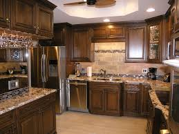 dark brown cabinets with dark brown floors magnificent home design