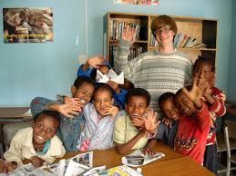 volunteer with children in ethiopia projects abroad