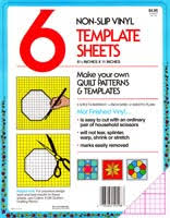 Plastic Template Sheets Notions Templates Plastic Sheets Hamels Fabrics Quilting