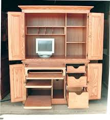 armoire armoire office desk full image for pier one pine