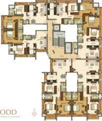 floor plan of vasaione a project by kt mansarovar in vasai west