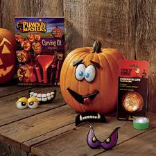 Pumpkin Masters Halloween Kids Fright Lights Pumpkin Decorating