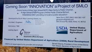 United States Department Of Agriculture Rural Development by Kihei Charter U0027s New High Under Construction Kihei