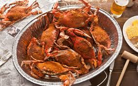halloween crab basic steamed blue crabs recipe chowhound