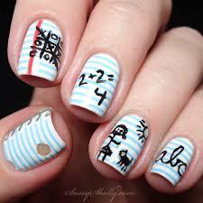 sassy back to nails nail toenail designs art