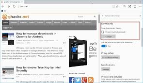 android chrome location how to change the ie and edge folder ghacks tech news