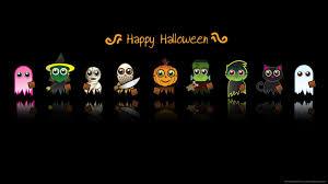 cartoon haloween pictures download 1600x900 halloween cute characters wallpaper