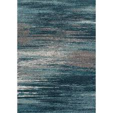 Area Rug Modern 10 X 13 X Large Teal Gray Area Rug Modern Grays Rc Willey
