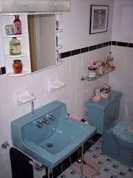 Blue Bathroom Fixtures Palm Springs Stephan Finishes His Retro Bathroom Renovation