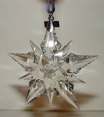 swarovski ornament 2001 hang this sparkling