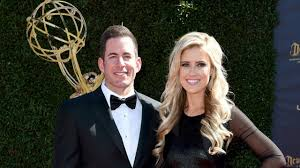 tarek and christina el moussa attend the daytime emmy awards
