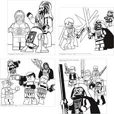 lego star wars color posters 4 zach star wars party